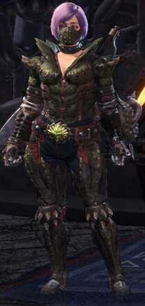 Deviljho Alpha Armor Set