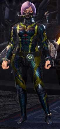 Diver Alpha Armor Set