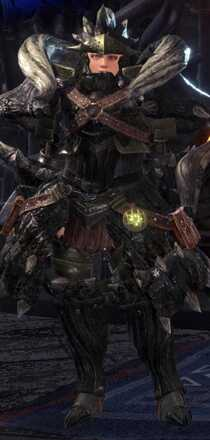 Diablos Nero Alpha + Armor Set