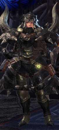 Diablos Nero Alpha Armor Set