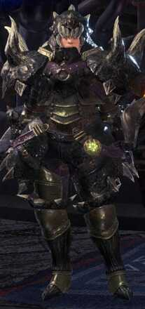 Diablos Nero Beta Armor Set