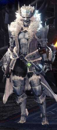 Frostfang Barioth Alpha + Armor Set