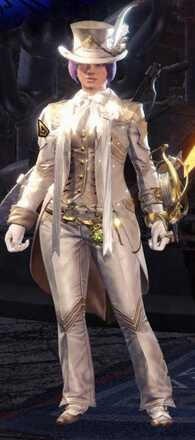 Gala Suit Alpha Armor Set