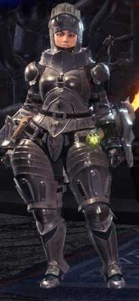 High Metal Beta + Armor Set