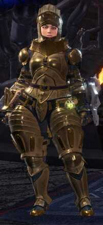 High Metal Alpha + Armor Set