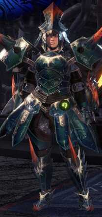 Hornetaur Beta Armor Set