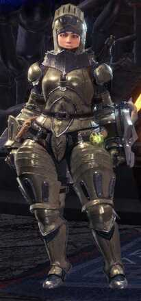 High Metal Armor Set