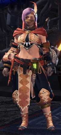 Kulu Beta Armor Set