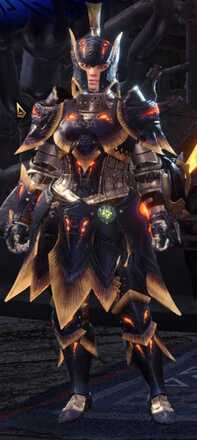 Lavasioth Alpha + Armor Set