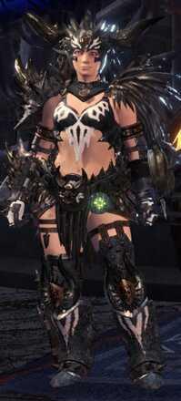 Nergigante Gamma Armor Set