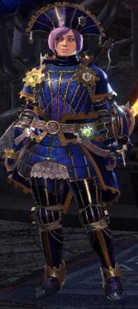 Lunastra Alpha Armor Set