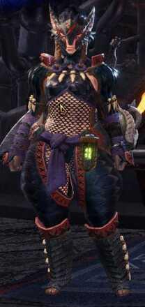 Nargacuga Alpha + Armor Set