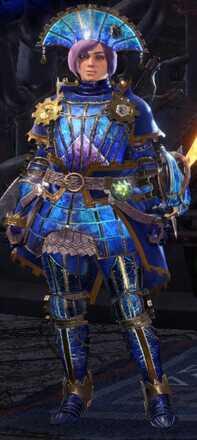 Lunastra Gamma Armor Set