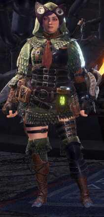 Pukei Alpha Armor Set