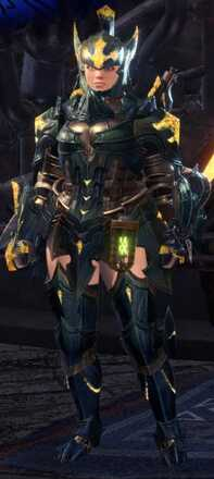 Raging Brachy Alpha + Armor Set