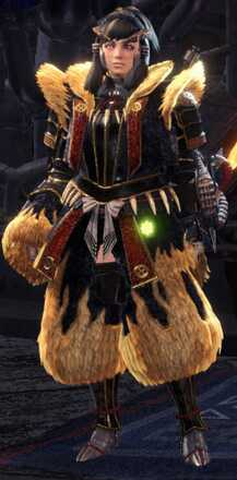 Rajang Alpha + Armor Set