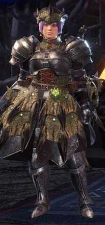 Rathian Beta Armor Set