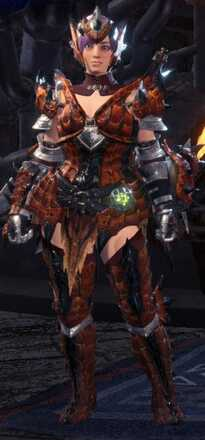 Rathalos Beta  + Armor Set