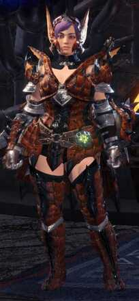 Rathalos Alpha + Armor Set