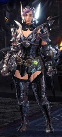 Silver Sol Alpha + Armor Set