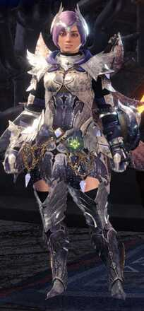 Shrieking Legia Alpha + Armor Set
