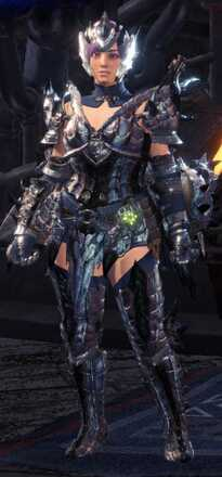 Silver Sol Beta + Armor Set
