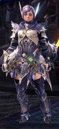Shrieking Legia Beta + Armor Set