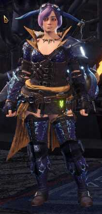 Tzitzi Beta Armor Set