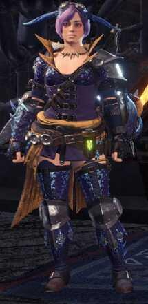 Tzitzi Alpha Armor Set