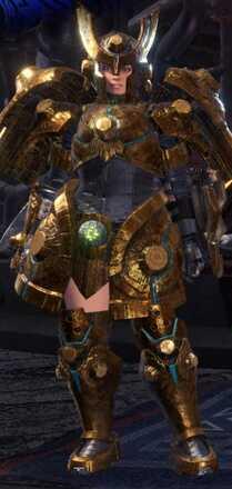 Uragaan Alpha Armor Set