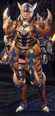 Tigrex Alpha + Armor Set