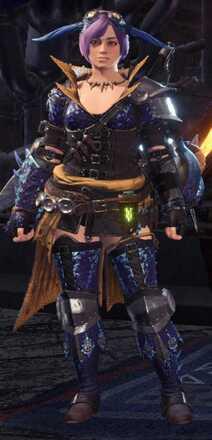 Tzitzi Armor Set