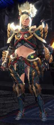 Zinogre Beta + Armor Set