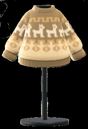 ACNH - Seasonal Items - Winter-Solstice Sweater