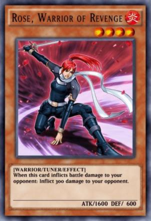 Rose Warrior of Revenge