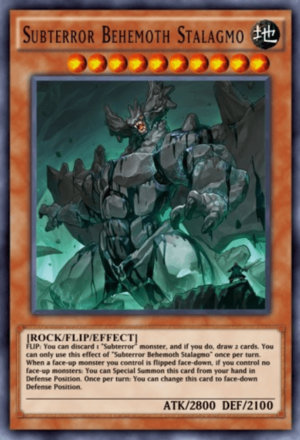 Subterror Behemoth Stalagmo