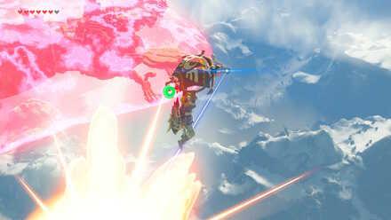 The Legend of Zelda Breath of the Wild (BotW) Dodging Vah Medo Lasers.jpg