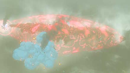 The Legend of Zelda Breath of the Wild (BotW) Divine Beast Vah Medoh Barier Destroyed.jpg