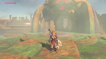 The Legend of Zelda Breath of the Wild (BotW) Divine Beast Vah Medoh Entrance.jpg