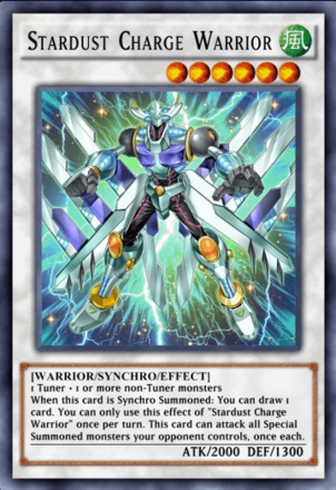 Stardust Charge Warrior