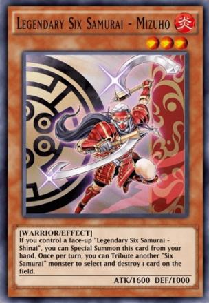 Legendary Six Samurai - Mizuho
