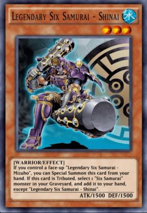 Legendary Six Samurai - Shinai