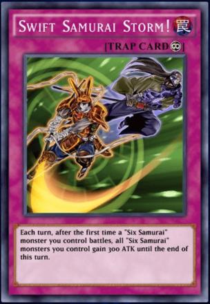 Swift Samurai Storm!