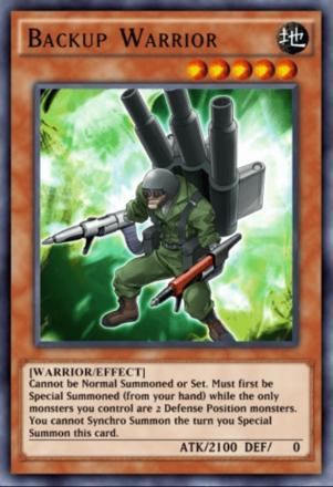 Backup Warrior