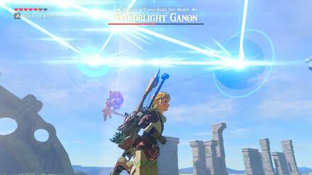 The Legend of Zelda Breath of the Wild (BotW) Windblight Ganon Ricochet Lasers.jpg