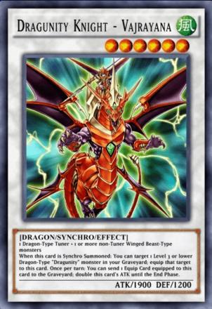 Dragunity Knight - Vajrayana