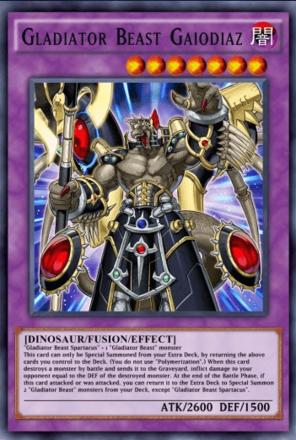 Gladiator Beast Gaiodiaz