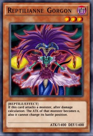 Reptilianne Gorgon
