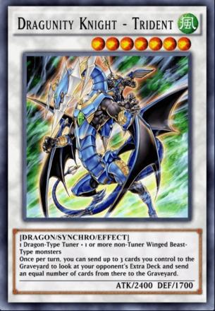 Dragunity Knight - Trident