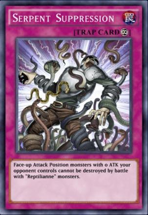 Serpent Suppression